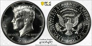 1965 Kennedy Half Dollar PCGS SP66 SMS DDR FS-801 Variety Registry Coin TrueView