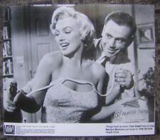 The Seven Year Itch Movie Still with Marilyn Monroe B&W 1990 Glossy Photograph