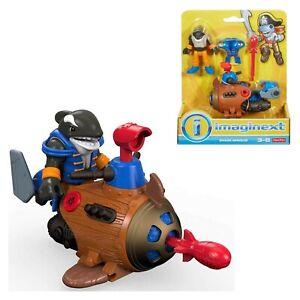 gioco giocattolo fisher price Imaginext squalo mini sub per bambini e accessori