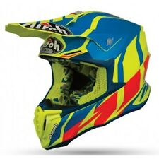 Motorcycle Helmet Cross Airoh Twist Azure Mat Enduro Off Road Motard Casque