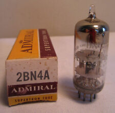 Admiral 2BN4A Supertron Electronic Tube In Box NOS