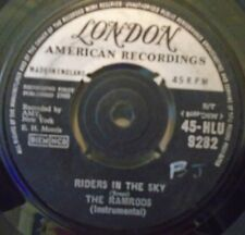 """THE RAMRODS - Riders In The Sky ~ 7"""" Single"""