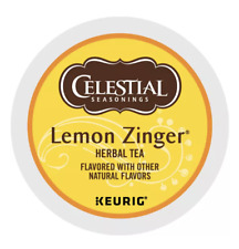 Celestial Seasonings Lemon Zinger Tea Keurig K-Cups 72 Count - FREE SHIPPING