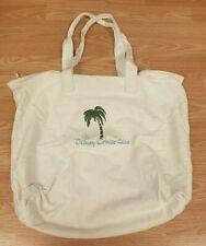 Disney Cruise Line Palm Tree Soft Canvas Unisex Tote / Shoulder Travel Bag