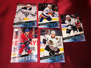 2020-21 UD Series 1 YOUNG GUNS LOT OF 5 CARDS