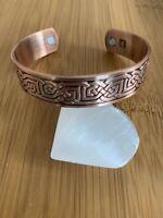 Anti-Douleurs Bracelet cuivre magnétique Arthrose Rhumatisme 7 Chakras