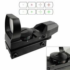 Holographic 4 Type Reticle Red Green Dot Sight for 20mm Picatinny Weaver Rail