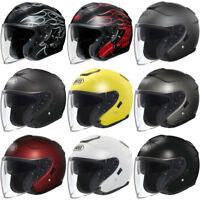 Shoei J-Cruise 3/4 Open Face DOT Motorcycle Touring Helmet - Pick Size & Color