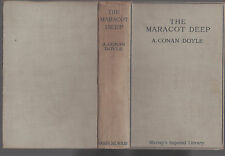 A. CONAN DOYLE - THE MARACOT DEEP & OTHER STORIES   FIRST EDITION  1929