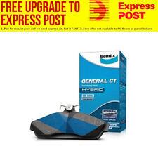 Bendix Front General CT Brake Pad Set DB122 GCT fits Nissan Stanza 1.6 i.e. (