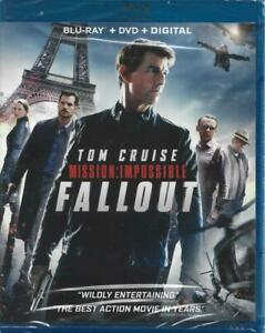 Mission: Impossible: Fallout (Blu-ray/DVD, 2018, 2-Disc set + Digital copy) NEW