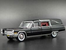 1966 66 CADDY CADILLAC HEARSE 1:64 SCALE COLLECTIBLE DIORAMA DIECAST MODEL CAR