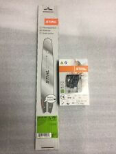"""Stihl  12"""" Bar and chain 3/8p .043 44 DL ht101 ht75 ms192 ms181 ms180 NEW OEM"""