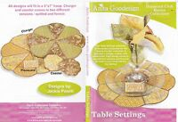 Anita Goodesign Table Settings Embroidery Machine Design CD NEW