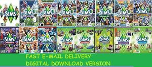 The Sims 3 Complete Collection|ORIGIN Digital Download|Windows&MAC|Multilanguage