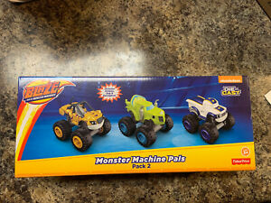 3 Pack Blaze and the Monster Machines - Monster Machine Pals Pack #2