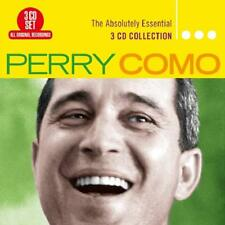 PERRY COMO ABSOLUTELY ESSENTIAL REMASTERED 3 CD DIGIPAK NEW