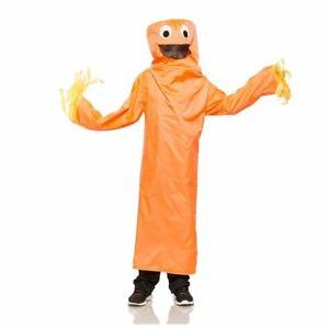 Kids Orange Wild Waving Inflatable Tube Guy