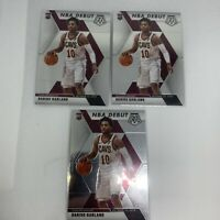 2019-20 Mosaic DARIUS GARLAND NBA Debut RC Lot of 3 Cards Cleveland Cavaliers