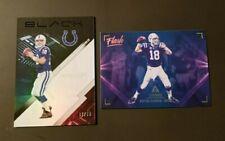 Peyton Manning 2x Lot Panini Black # 87/99 & Luminance Flash Indianapolis Colts