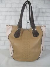 orYANY Large Leather Multi-Color Shoulder Bag Purse Tote