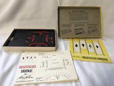 Goren's Beginners Bridge Game Learn How to Play Bridge 1967 Milton Bradley