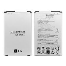 For LG k8 phone original battery replacement 2125mAh BL-46ZH authentic battery