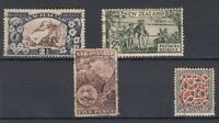 New Zealand QV/KGV Collection Of 4 Incl SG253 Fine Used J3669
