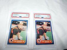 Lot of 2  Fleer 1986 Cal Ripken #284 PSA 9 Mint Baseball Cards