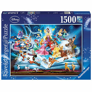 Ravensburger: Disney's Magical Storybook 1500 Piece Puzzle BRAND NEW