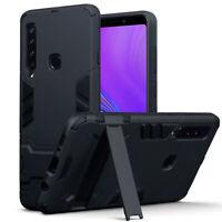 Samsung Galaxy A20e  Shockproof Heavy Duty Case Rugged Bumper ARMOUR BLACK