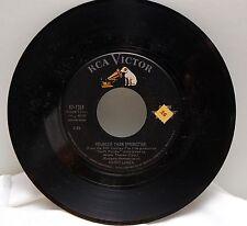 Mario Lanza - Younger than Springtime/Arrivederci Roma  RCA Victor 45 vinyl