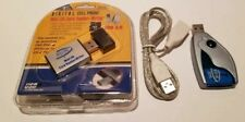 New Mini Sd Card Reader/Writer Usb 2.0 (Mac & Pc) 2 Usb cables & Sd Card reader