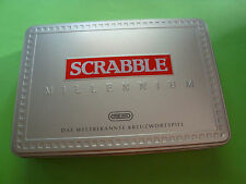 Scrabble Millenniumausgabe in Blechbox