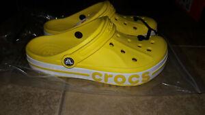 NEW Womens Crocs Bayaband Clog Shoes, size 12