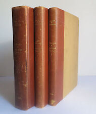 Collection of John Boyd Thacher Vols 1-3 1931 Books Autographs French Revolution