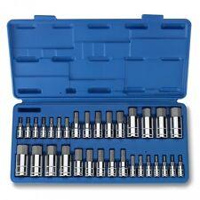 32pc Master Hex Bit Socket Set SAE & METRIC Automotive Shop Tools Must Have Tool