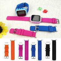 Kids Replacement Soft Silicone Wrist Band Watch Strap For Child's Smart Watch Q