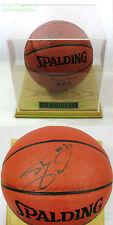 Signed ☆ Shaquille O'Neal Basketball ☆ Wood / Acrylic Case ☆ Orlando Magic SHAQ