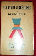 Almanach Surréaliste, 1950 La Nef, Surrealism Review, Breton, Paz, Ernst