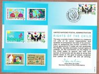 United Nations Scott #Geneva 40 First Day Cover Card 6/14/91