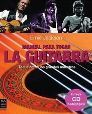 MANUAL PARA TOCAR LA GUITARRA 2 - CON CD (Spanish Edition)-ExLibrary