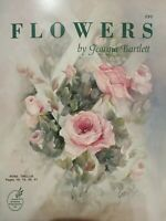 Flowers by Georgia Bartlett Tole Painting instruction book Susan Scheewe 290