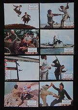 CHINH SIANG LA PANTHERE JAUNE lobby card photo scenario film 1970 KUNG FU Karaté