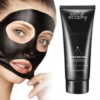 Peel-off Mask Facial Cleansing Blackhead Remover Charcoal Purifying Mask Black w