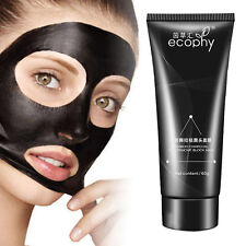 Peel-off Mask Facial Cleansing Blackhead Remover Charcoal Purifying Mask Black^