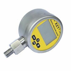 Digital Hydraulic Pressure Gauge-80mm-1000BAR/14500PSI(BSP1/4) -Base Entry