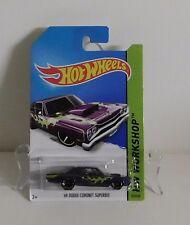 Hot Wheels - 69 Dodge Coronet Superbee - HW WORKSHOP Heat Fleet - # 212