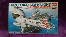Academy 1:48 CH/HH-46D Sea Knight Us Navy helicóptero modelo kit #12207 * * Completa