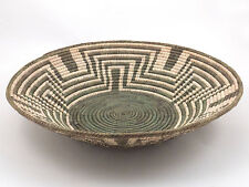 #0636 Handmade Southwest Style Decorative Fine Coil Basket